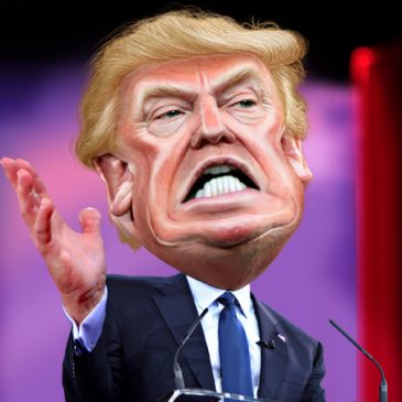 Angry Trump Caricature Fest