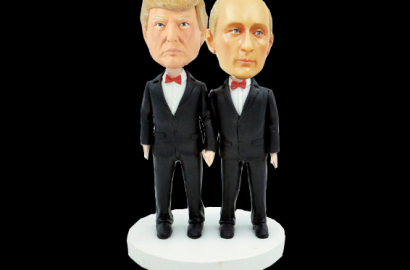 2017 Inauguration Cake – Trump and Putin
