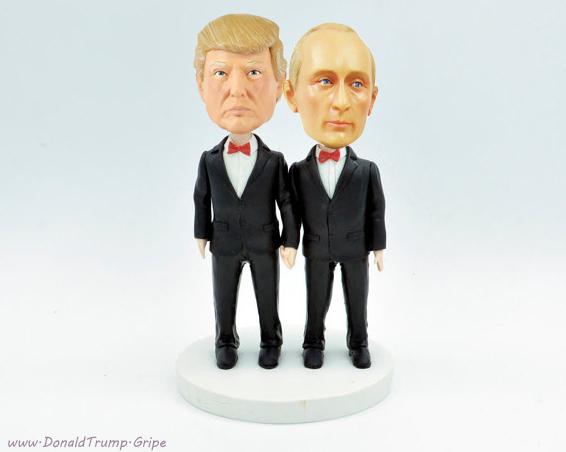 Trump Putin Cake Topper